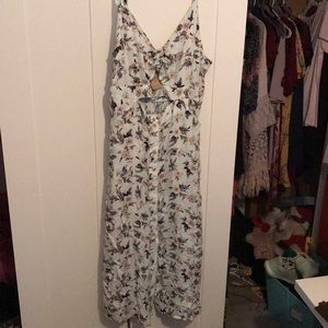 American eagle cut out dress
